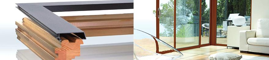 Ausstellung von Fenstern aus Holz und Aluminium in Bonn
