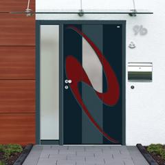 Türen aus Holzaluminium